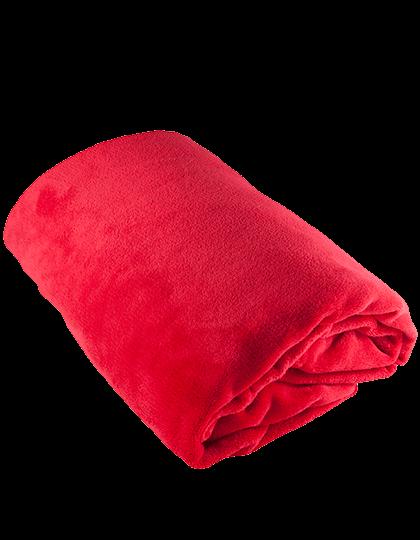 Decke Bear Dream Coral Fleece Blanket CF130x170 Jester Red_1