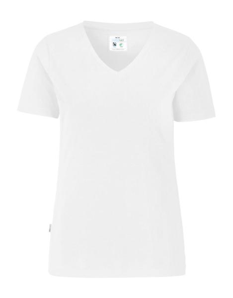 T-Shirt Kurzarm Cottover Stretch T-shirt 141025 Weiss 100