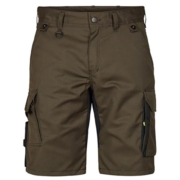 Herren Arbeitsshorts FE Engel X-treme H.Shorts mit Stretch 6362-740 Forest Green/Schwarz 5320