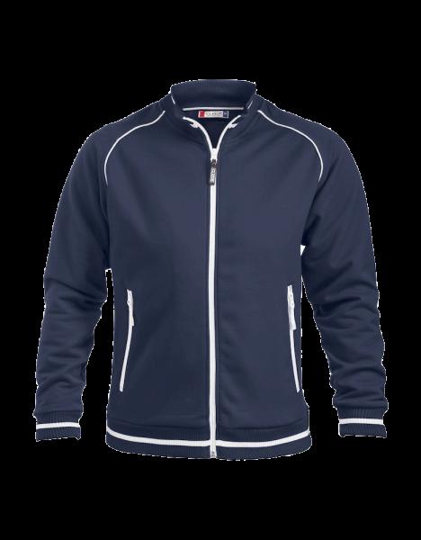 Unisex Sweatjacke Clique Craig 021053 Dunkel Marine 580_1
