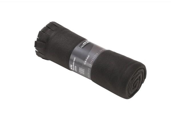 Fleece Decke James&Nicholson Fleece Blanket Basic JN956 black