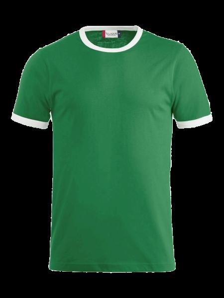 Kinder T-Shirt kurzarm Clique Nome Kids 029304 Gruen/Weiss 6200_1