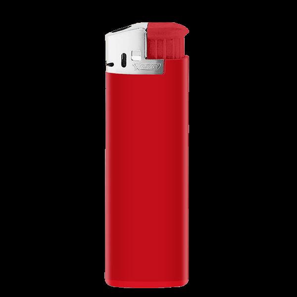 Feuerzeug BiC 2452 J38 Lighter Chrome Hood rot 1-/0-farbig bedruckt_1